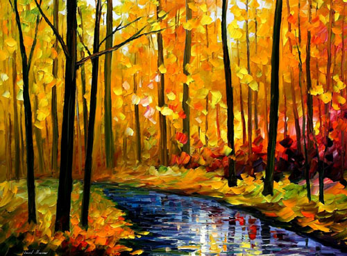 Happy Thanksgiving Fall Paintings 2